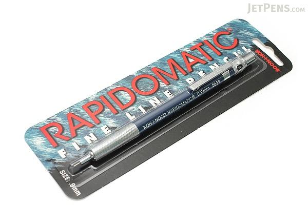 Koh-I-Noor Rapidomatic Drafting Pencil - 0.9 mm - Blue Body - KOH-I-NOOR 5639.BC