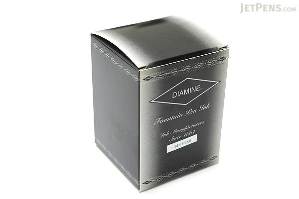 Diamine Beau Blue Ink - 80 ml Bottle - DIAMINE INK 7087