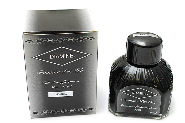Diamine Fountain Pen Ink - 80 ml - Meadow (Green) - DIAMINE INK 7083