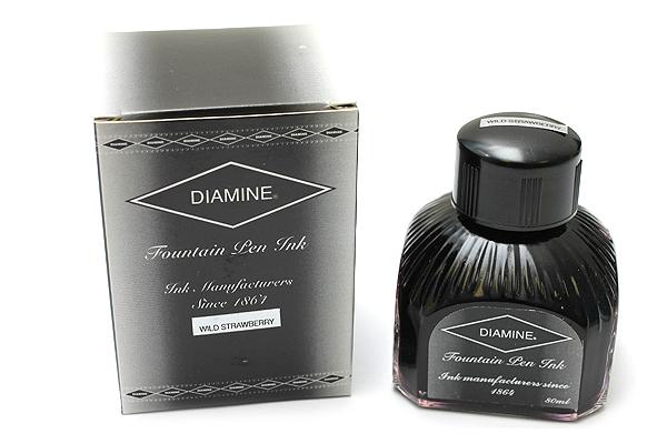 Diamine Fountain Pen Ink - 80 ml - Wild Strawberry - DIAMINE INK 7085