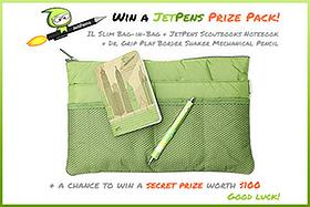 JetPens St. Patrick's Day Giveaway!