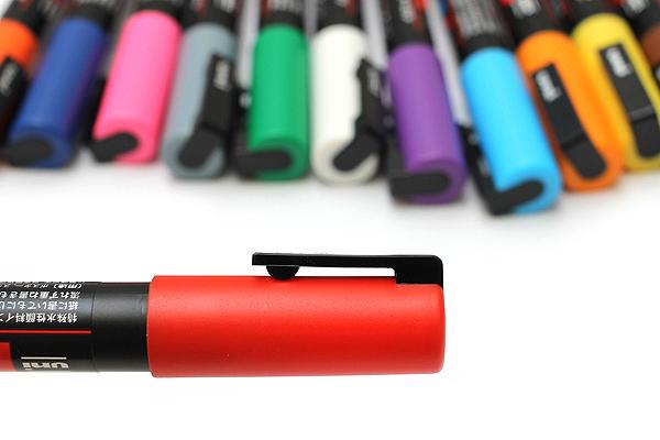 Uni Posca Paint Marker PC-3M - Fine Point - 15 Color Set - UNI PC3M 15C