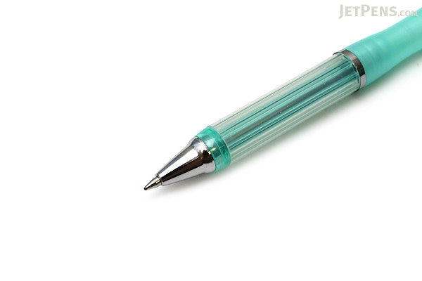 Zebra Airfit LT Ballpoint Pen - 0.7 mm - Pearl Green Body - Black Ink - ZEBRA BA61-PG