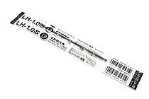 Zebra LH-1.0 Ballpoint Pen Refill - 1.0 mm - Black - ZEBRA RLH10-BK