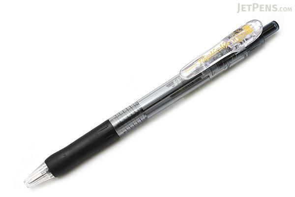 Zebra Tapli Clip Ballpoint Pen - 1.0 mm - Black Body - Black Ink - ZEBRA BNB5-BK