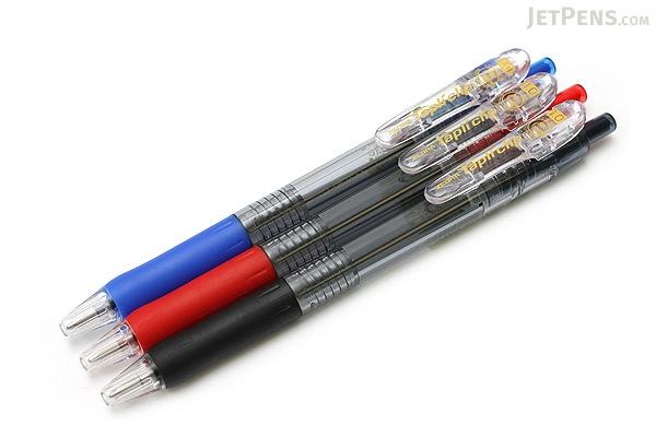 Zebra Tapli Clip Ballpoint Pen - 1.0 mm - Red Body - Red Ink - ZEBRA BNB5-R