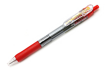 Zebra Tapli Clip Ballpoint Pen - 1.0 mm - Red Body - Red Ink - ZEBRA BNB5-R