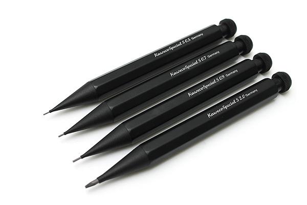 Kaweco Special AL Mini Mechanical Pencil - 0.7 mm - Black Body - KAWECO 10000534