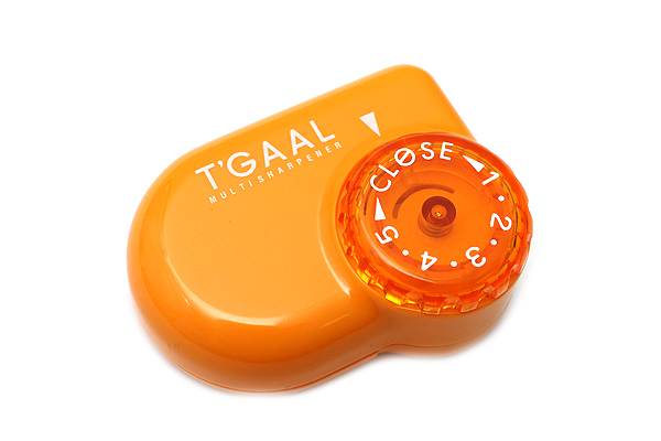 Kutsuwa Stad T'Gaal Pencil Sharpener - Orange - KUTSUWA RS017OR