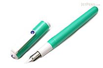 Sailor Clear Candy Fountain Pen - Metallic Green - Medium Fine Nib - SAILOR 11-0103-315