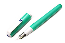 Sailor Clear Candy Fountain Pen - Metallic Green - Medium Fine Nib - SAILOR 11-0103-315