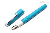 Sailor Clear Candy Fountain Pen - Medium Fine Nib - Sky Blue Body - SAILOR 11-0103-301