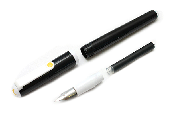Sailor Clear Candy Fountain Pen - Medium Fine Nib - Black Body - SAILOR 11-0103-306