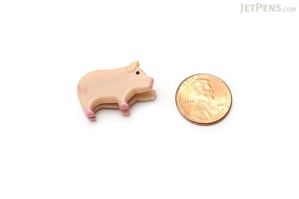 Midori Clip - Pig - Pack of 6 - MIDORI 230161