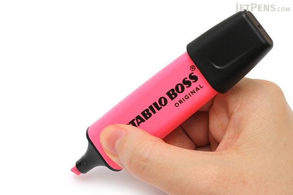Stabilo Boss Original Highlighter Pen - Pink - STABILO 70-56