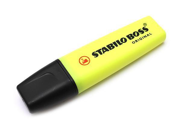 Stabilo Boss Original Highlighter Pen - Yellow - STABILO 70-24