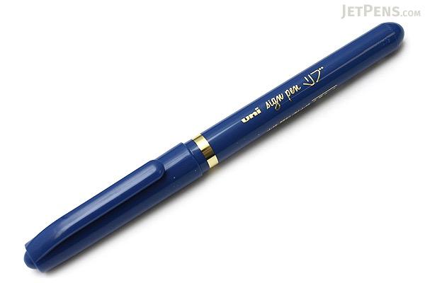 Uni Live Pigment Sign Pen - Fine - Blue - UNI MYT7.33
