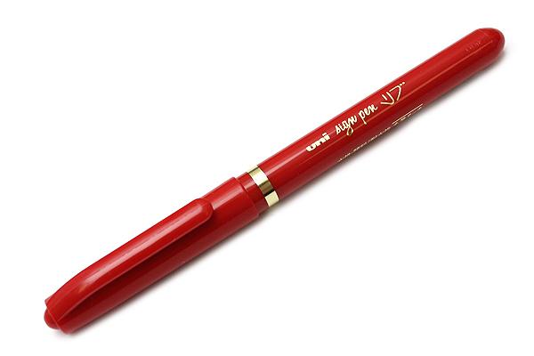 Uni Live Pigment Sign Pen - Fine - Red - UNI MYT7.15