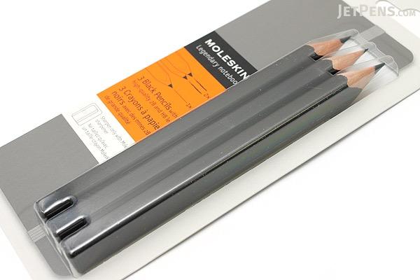 Moleskine Matte Black Pencil - Set of 3 - MOLESKINE 978-88-6613-294-3
