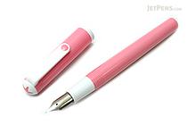 Sailor Clear Candy Fountain Pen - Medium Fine Nib - Pink Body - SAILOR 11-0103-308