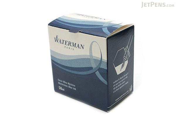 Waterman Mysterious Blue Ink - 50 ml Bottle - WATERMAN S0110790