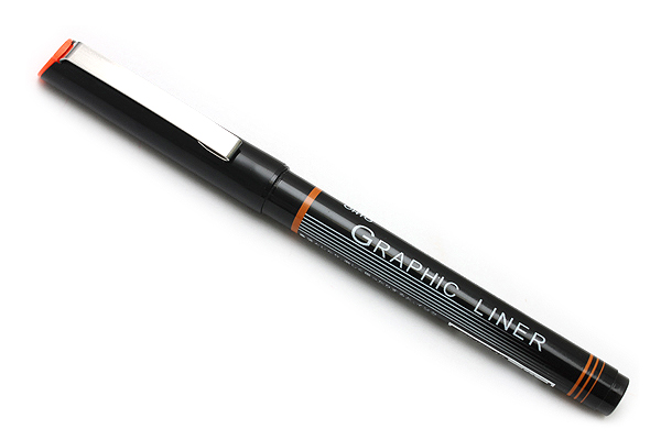 Ohto Graphic Liner Needle Point Drawing Pen - Pigment Ink - 10 - 1.5 mm - Black Ink - OHTO CFR-150GL10