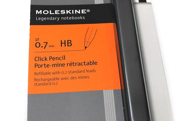 Moleskine Click Mechanical Pencil - 0.7 mm - MOLESKINE 978-88-6613-296-7