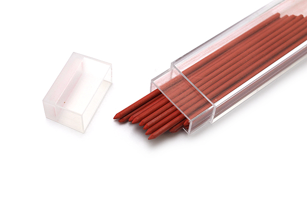 Kaweco Lead Holder Refill - 2 mm - Red - Pack of 24 - KAWECO 10001048