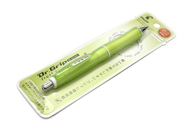 Pilot Dr. Grip G-Spec Frost Color Shaker Mechanical Pencil - 0.5 mm - Frost Green Body - PILOT HDGS-60R RG