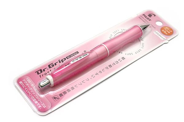 Pilot Dr. Grip G-Spec Frost Color Shaker Mechanical Pencil - 0.5 mm - Frost Pink Body - PILOT HDGS-60R RP