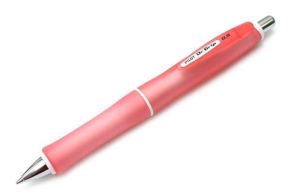 Pilot Dr. Grip G-Spec Frost Color Shaker Mechanical Pencil - 0.5 mm - Frost Red Body - PILOT HDGS-60R RR