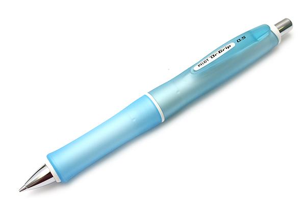 Pilot Dr. Grip G-Spec Frost Color Shaker Mechanical Pencil - 0.5 mm - Frost Soft Blue Body - PILOT HDGS-60R RSL