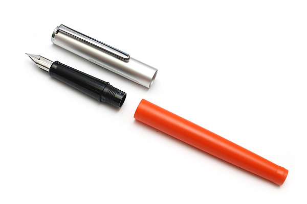 Sailor HighAce Neo Beginner's Fountain Pen - Steel Nib - Fine - Orange Body - SAILOR 11-0116-273