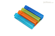 Tombow Ippo Interlocking Pencil Cap - Blue Group - Pack of 4 - TOMBOW PC-SJM-BLUE