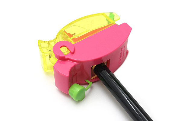 Tombow Ippo Pinch-Point Pencil Sharpener - Pink - TOMBOW SM-IP81