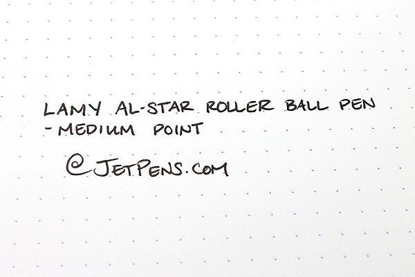 Lamy Al-Star Rollerball Pen - Medium Point - Ocean Blue Body - Black Ink - LAMY L328