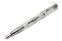 Monteverde Artista Crystal Fountain Pen - Transparent Clear - Medium Nib - MONTEVERDE MV26803