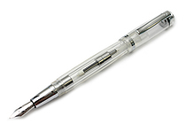 Monteverde Artista Crystal Fountain Pen - Medium Nib - Transparent Clear Body - MONTEVERDE MV26803