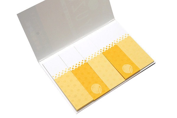 Nichiban Index Label - Citrus - 15 mm X 50 mm - 10 Sheets - NICHIBAN FS-K4