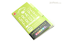 Nichiban Index Label - Grapefruit - 15 mm X 50 mm - 10 Sheets - NICHIBAN FS-K2