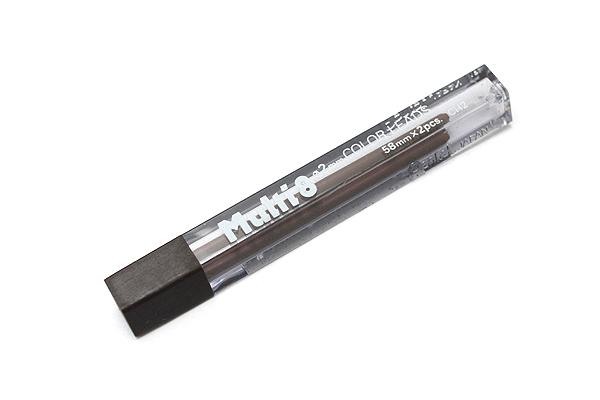 Pentel Multi 8 Lead Holder Refill - 2 mm - Brown - Pack of 2 - PENTEL CH2-E