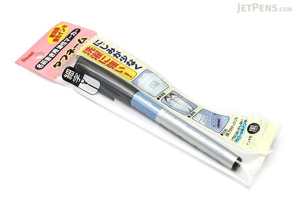 Pentel Tough Name Oil-Based Marker Pen - Fine Point - Black - PENTEL XNM12-A