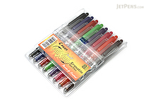 Pilot FriXion Ball US Gel Pen - 0.7 mm - 8 Color Set - PILOT FX7C8001-P
