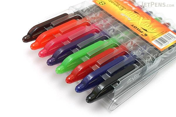Pilot FriXion Ball US Erasable Gel Pen - 0.7 mm - 8 Color Set - PILOT FX7C8001-P