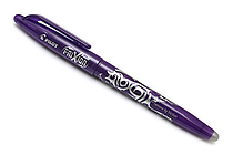 Pilot FriXion Ball US Erasable Gel Pen - 0.7 mm - Purple - PILOT FX7--PPL-BC