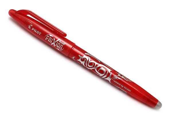 Pilot FriXion Ball US Erasable Gel Pen - 0.7 mm - Red - PILOT 31563