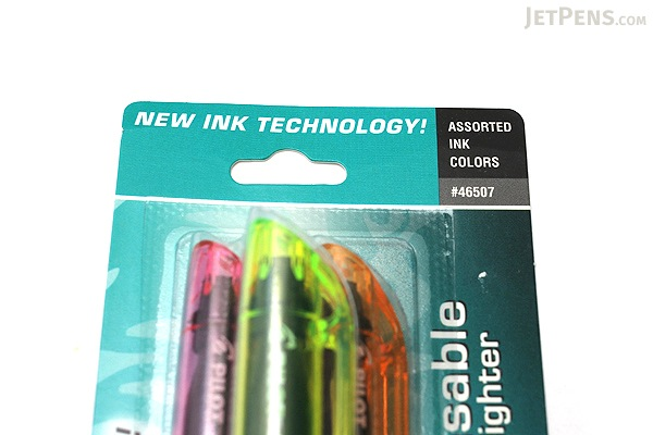 Pilot FriXion Light US Erasable Highlighter - 3 Color Set - PILOT FXLC3001