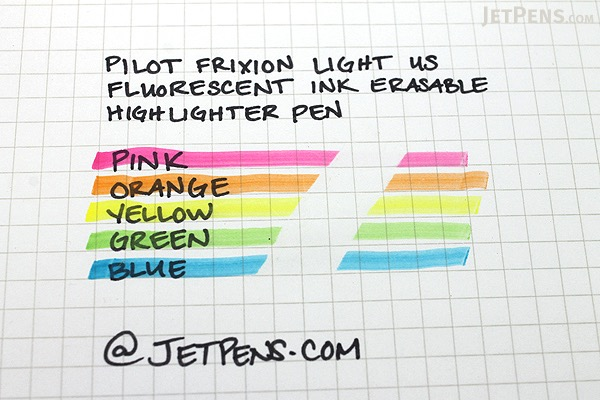 Pilot FriXion Light US Erasable Highlighter - Pink - PILOT FXL--PNK-BC