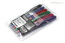 Pilot FriXion Point US Gel Pen - 0.5 mm - 6 Color Set - PILOT FXPC6001-P