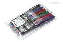 Pilot FriXion Point US Erasable Gel Pen - 0.5 mm - 6 Color Set - PILOT FXPC6001-P